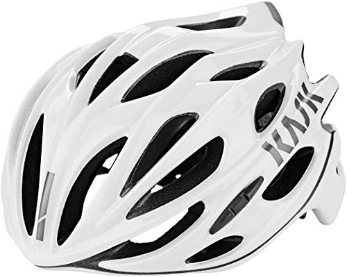 Kask Mojito X - Casco de Carretera Unisex, Unisex Adulto, Color Blanco, tamaño Medium