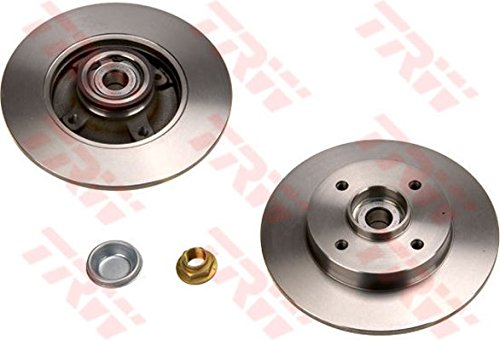 Preisvergleich Produktbild TRW Brake Disc (Single With Bearings) - DF4452BS