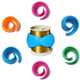Hulameda 48 Pieces Thread Spool Huggers to Prevent Thread Unwinding and Keep Thread Tails Under Control