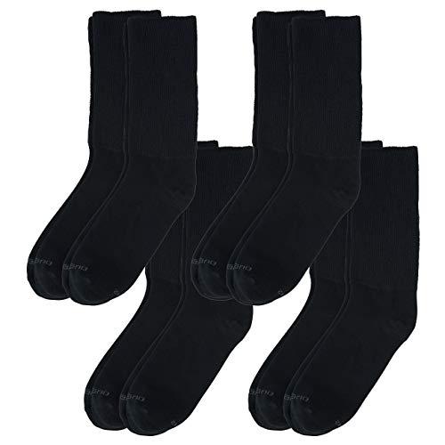 Camano unisex Super Soft Socken 8er Pack, Größe:39-42, Farbe:Black (0005)