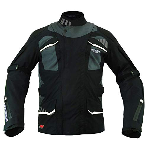 ON BOARD - JMSTOBGWZM/428 : ON BOARD - JMSTOBGWZM/428 : Chaqueta Cazadora Moto 2/4 ´´Stone 4S´´ Color NE/GR/BL Talla M
