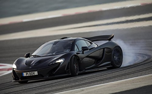 Gifts Delight Laminated 39x24 Poster: McLaren P1