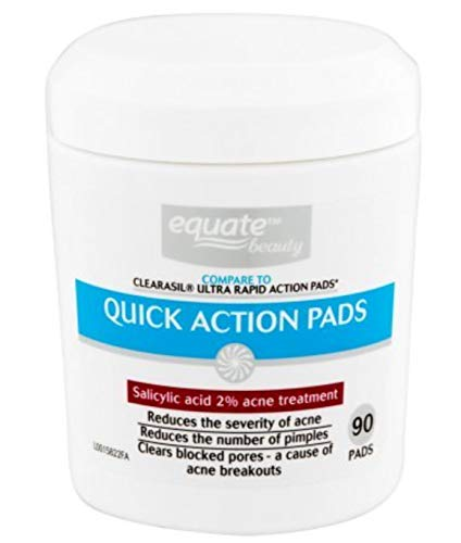 Equate Acne Treatment 90 Quick Action Pads