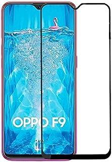 أوبو أف 9 ، شاشة حماية خماسية الابعاد زجاج 5 دي (تغطية كاملة - لصق كامل) ، اسود