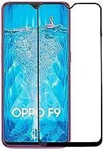 OPPO F9 Full Glue 5D Glass Screen Protector (Full Coverage - Full Glue), Black