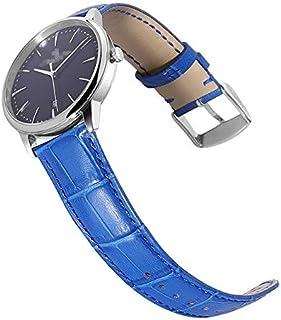 JINN - Watchbands - Watch Bands 14mm 16mm 18mm 20mm 22mm Women Strap Orange Red Beige Genuine Calf Leather Lady Watch Band...