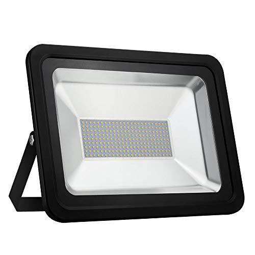 LED Strahler 10W 20W 30W 50W 100W 150W 200W 300W 500W 800W 1000W Warmweiß LED Wandstrahler Lampe Außenstrahler Aluminium Flutlicht Fluter 220V IP65 (1 Stück, 150W)
