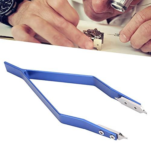 Pinzas para barra de resorte de reloj, accesorio de reparación de reloj Herramienta práctica y maravillosa para quitar la correa de reloj Barras de resorte para ajustar la correa