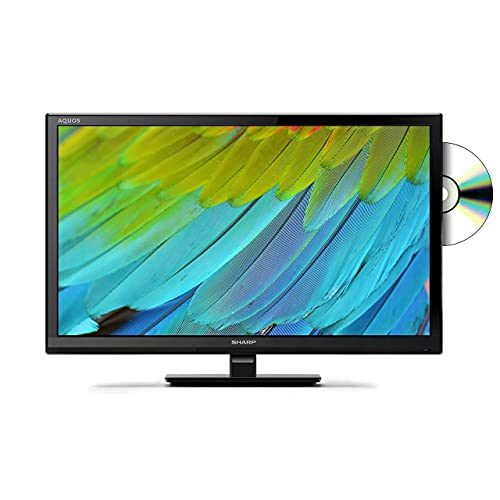 Sharp LC-24DHF4011K 24 Inch HD Ready LCD TV with Freeview HD, Built-In DVD...