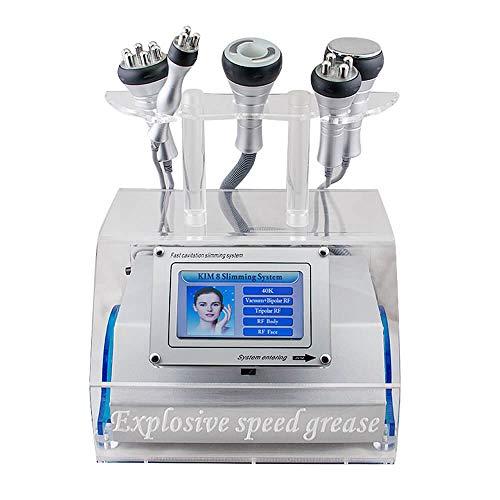 Portable 5 en 1 Laser Bipolaire de RF de Vide de Cavitation Amincissant la Machine Amincissant le Gros Retrait de Ride Amincissant le Dispositif EU Pr