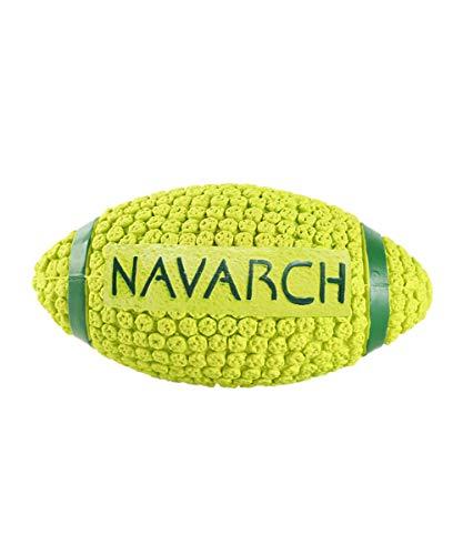 ZRSZ Juguete para Perro Indestructible No Tóxico Robusto Masticable De Goma Natural Cachorro Accesorios para Mascotas 16cm * 8cm (Amarillo)