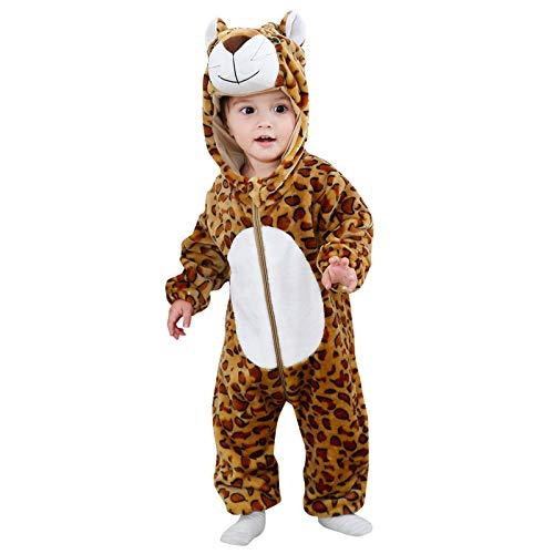 sunnymi Overalls mit Kapuze für Baby Jungen und Mädchen,0-24 Monate Kleinkind Baby...