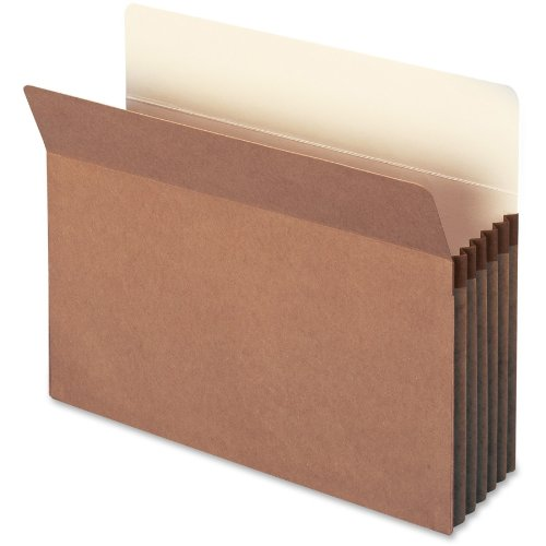 Smead 100% Recycled Top Tab File Pockets Marron Letter - Fichiers (Marron, Letter, 10 pièce(s))