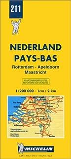 Michelin Rotterdam/Apeldoorn/Maastricht, Netherlands Map No. 211 (Michelin Maps & Atlases)