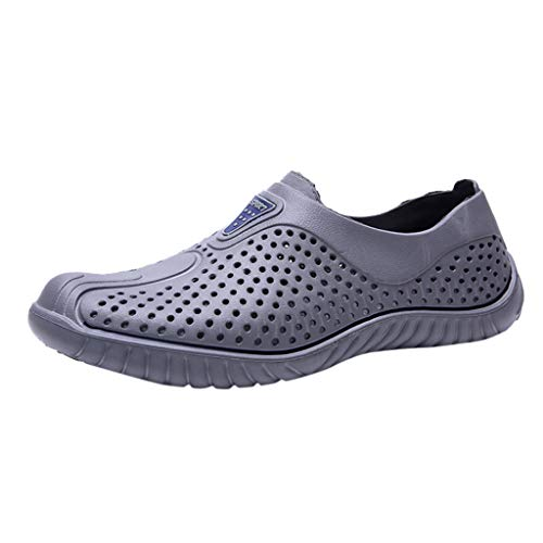 Learn More About Seaintheson Men's Summer Hole Shoes,Casual Hollow Out Breathable Beach Shoes Anti-S...