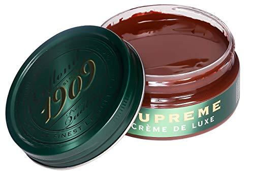 Collonil 1909 Supreme Creme de Luxe 79540000389 Schuhcreme Glattleder 100 ml, Braun/Mittelbraun, Einheitsgröße