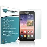 Slabo 4 x Bildschirmschutzfolie für Huawei Ascend G620s Bildschirmfolie Schutzfolie Folie Zubehör Crystal Clear KLAR