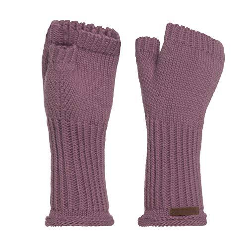 Knit Factory Handstulpen Cleo, Handstulpen:Lila