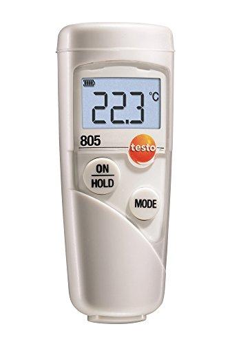 Testo 0560 8051 805 Mini-Infrarot-Thermometer, klein und handlich, hohe Genauigkeit, inklusive Batterien
