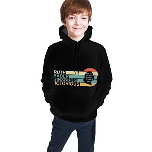 XCNGG Teen Sweater Boy Sweater Girl Sweater Sudadera con Capucha RBG Boys Girls Teen 3D Print Pullover Hoodies Hooded Sweatshirts Sweate