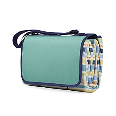 ONIVA - a Picnic Time brand Outdoor Picnic Blanket Tote XL, St. Tropez