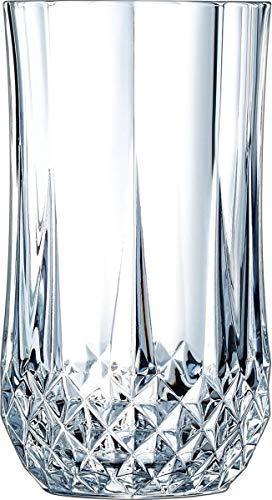 Cristal d'Arques Longdrinkgläser, Glas, Transparent, 25 x 18 x 18.5 cm, 6