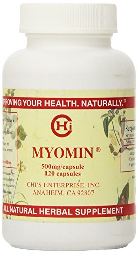 Chi's Enterprise 120 Piece Myomin Promotes Healthy Hormone Levels 500mg Capsules