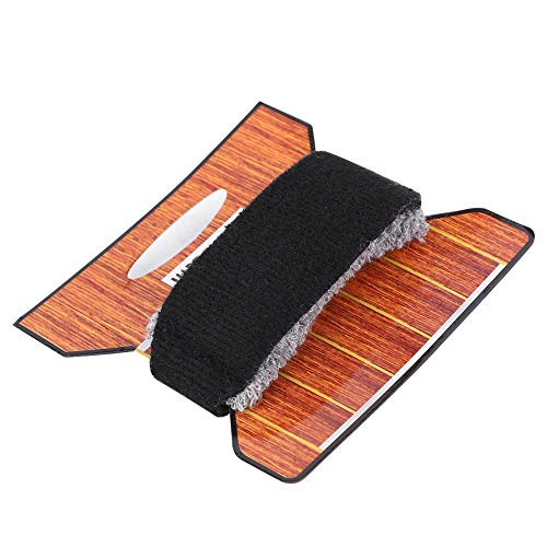 Dilwe Guitar Bass String Mute, Noise Reducer Dampener Universal Guitar Fretboard Muting Wraps Fit for 7 String Guitar 20cm Musical Instruments Accessory(Black)