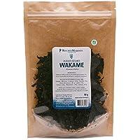 Algue Wakamé orgánico de lentejuelas, 50 g, fabricado en Francia, para ensaladas y peces