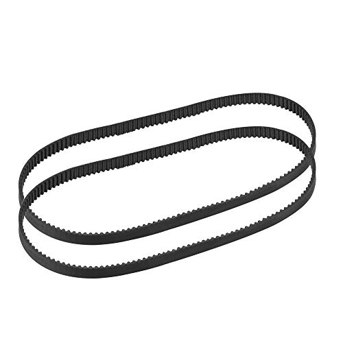 sourcing map GT2 Timing Belt 400mm Circumference 6mm Width Closed Fit Synchronous Pulley Wheel for 3D Printer 2pcs