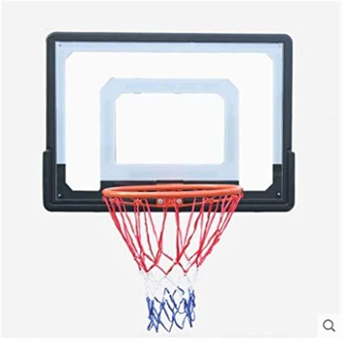 JNWEIYU Basketballstander Outdoor Kinder Wand- Basketball-System, Innen hängend Basketball Brett, PVC-Backboard, Zwei Installationsmethoden, Ultra-Light, ultradünne, Ultra Sicher