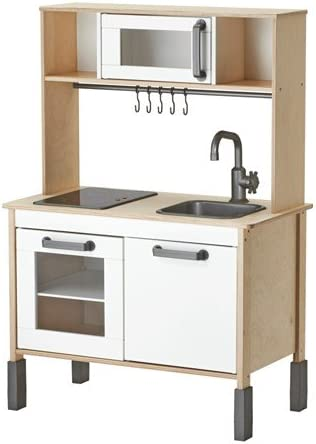 Ikea Duktig Cucina Giocattolo In Legno Adatta A Partire Da 3 Anni Dimensioni 72 X 40 X 109 Cm Amazon It Illuminazione