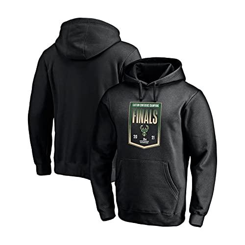 XDSD Bucks Antetokounmpo - Chándal con capucha para hombre, talla 34, estilo informal, para deporte, tallas S-XXXL, cómodo, color negro