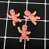 かわいいベビーシャワーミニ人形プラスチック製の子供満月のギフト男の子女の子パーティー用品子供小さなおもちゃのアクセサリー
