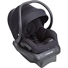 "Rear facing from 5 30 pounds and upto 32"" and includes a convenient stay in car adjustable car seat base Fully compatible with maxi cosi and many other premium brand strollers, this car seat gives you options for getting around with your child Lightw..."