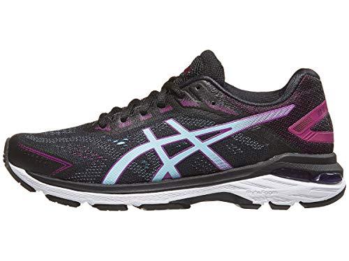 Asics Gt-20007 Chaussures de course à pied pour femme, Noir (Noir/bleu ciel), 35.5 EU