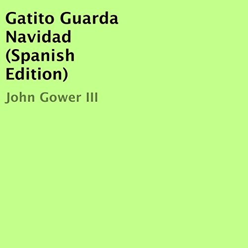 Gatito Guarda Navidad audiobook cover art