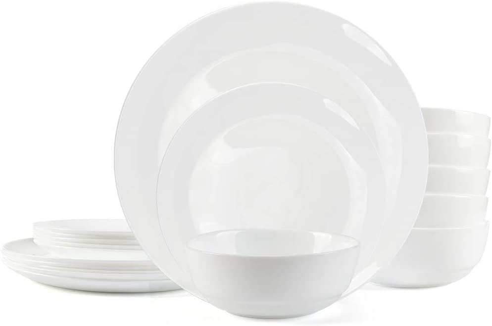 DANMERS Dinnerware 蔵 Set 18-piece Black 直営店 Sets for Service 6 Dishes