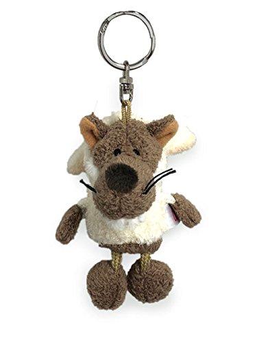 Nici 28070 - Wolf im Schafspelz Bean Bag Schlüssel-Anhänger 10 cm