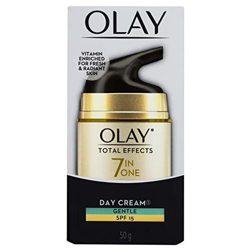 Olay Total Effects Face Cream Moisturiser Gentle SPF 15, 50g