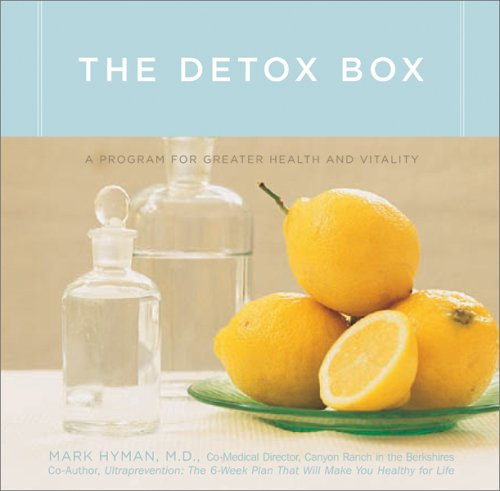 The Detox Box: A Program for Greater Health and Vitality [With Cards and Study Guide]
