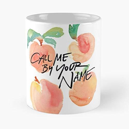 """Tazza da caffè in ceramica con nome Your Me Tuo Elio, con scritta """"Oliver Chiamami Guys Col"""" by Love E Name Eat Food Bite John Best da 325 ml"""