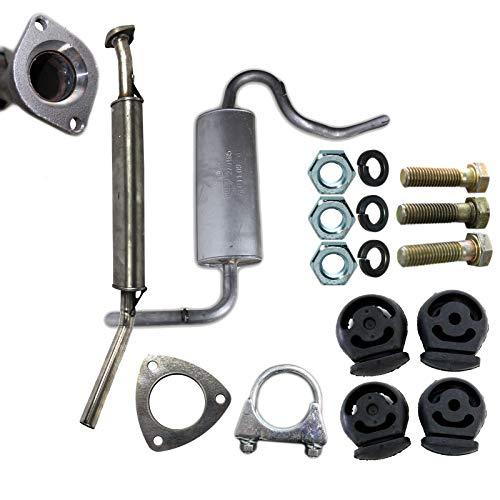Abgasanlage Reparatur Set Auspuff Schalldämpfer ab KAT für Niva 4x4 EURO 3