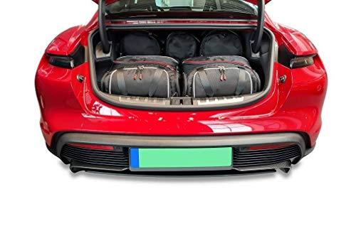KJUST Car Bags Set 5 pcs compatible with PORSCHE TAYCAN 2019 - Trunk Dedicated
