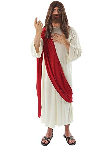 Orion Costumes Men's Jesus Christ Religious Nativity Robe Fancy Dress Costume
