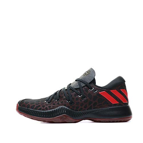 adidas Unisex Harden B/E Basketballschuhe, Mehrfarbig (Rot/Escarl/Negbas), 40 2/3 EU