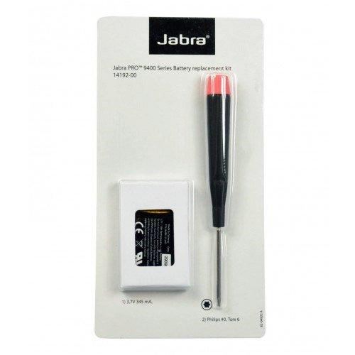 Jabra Spare Battery Kit for Jabra PRO 9450, 9460, 9470 | Logitech BH970 Wireless Headset, 14192-00