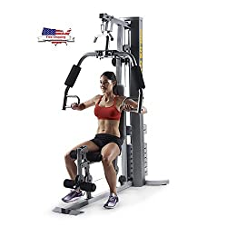 in budget affordable Gold's Gym XRS50 Home Gym with Top  Bottom Block System