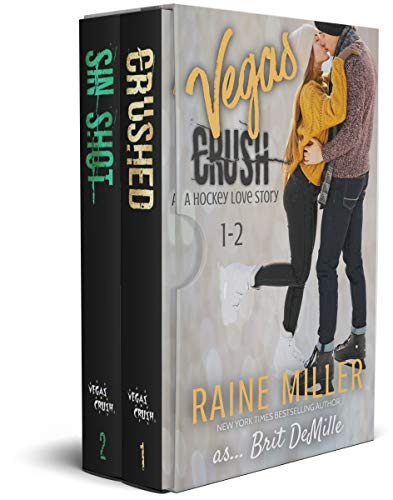 Vegas Crush Box Set: A Hockey Love Story: 1 - 2 (English Edition)