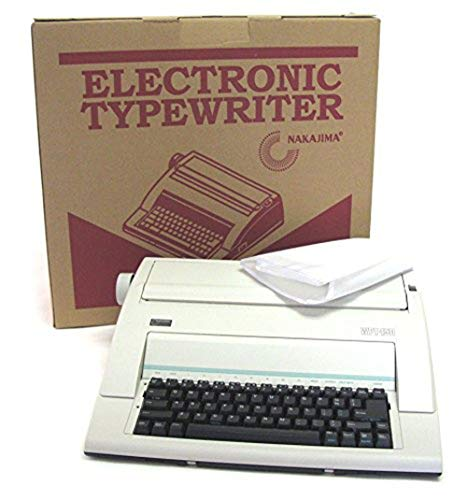top rated Nakajima WPT-150 Electronic Type Writer 2020